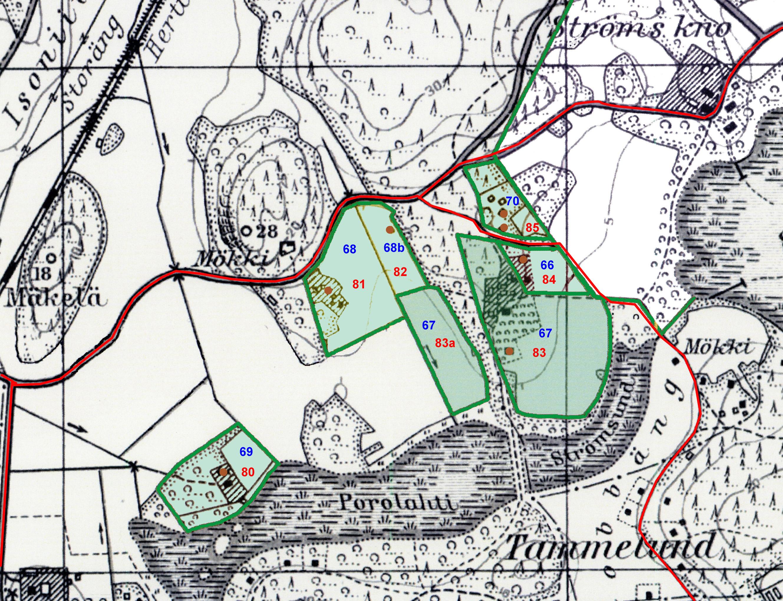 Herttonimen Huvila Alueen Kartta Ja Historia