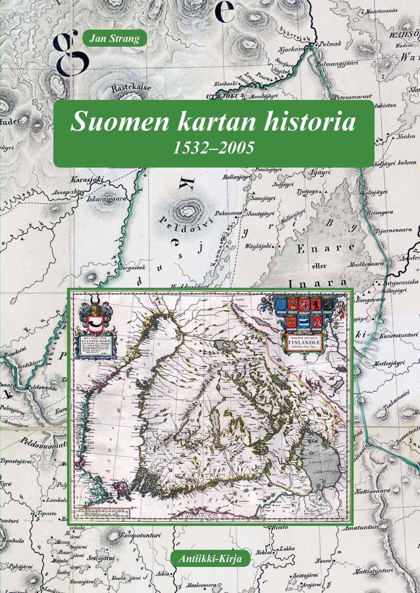 Suomen kartan historia 1532-2005 - kansikuva