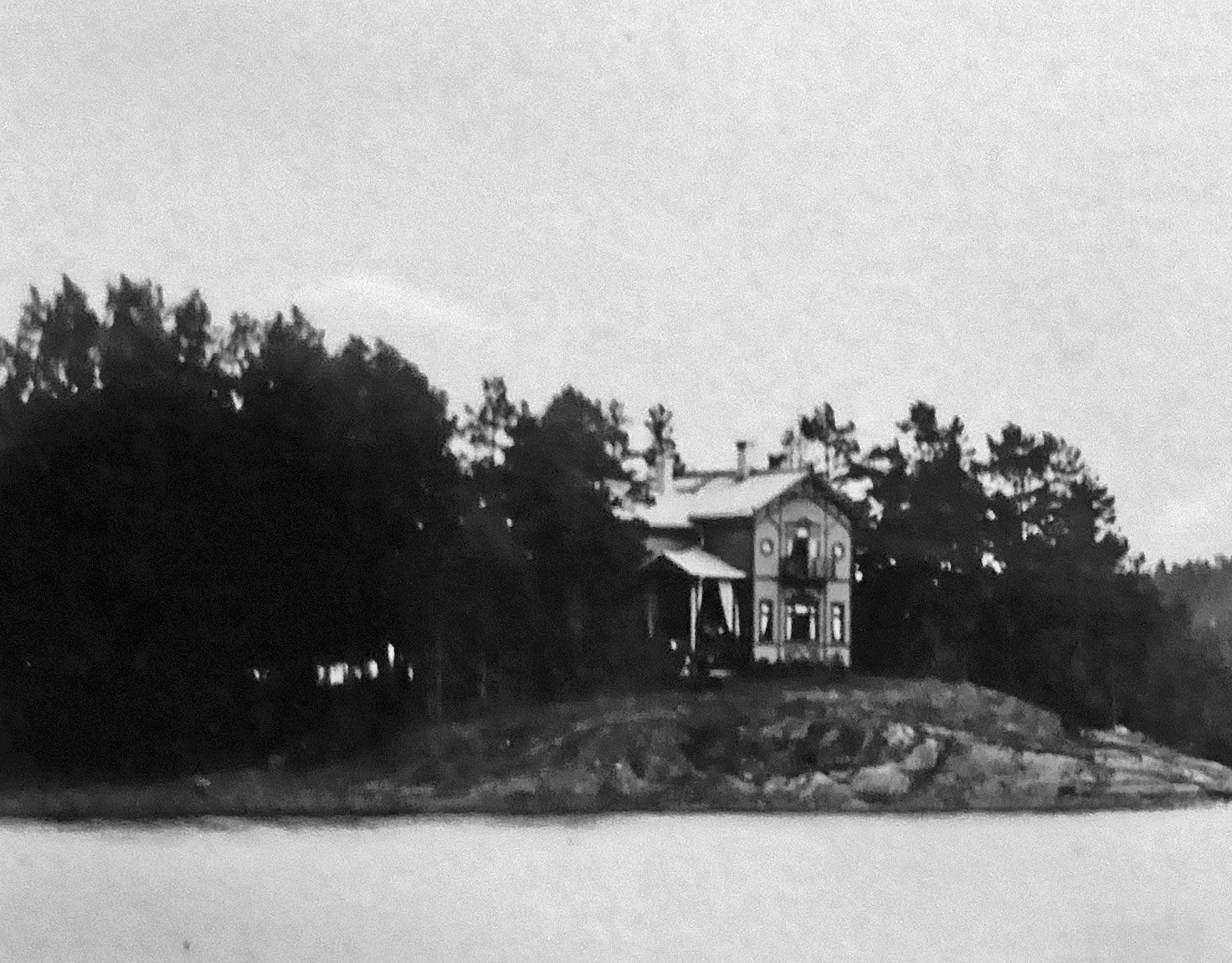 Kuva: Villa Österäng 1900-luvun alussa.