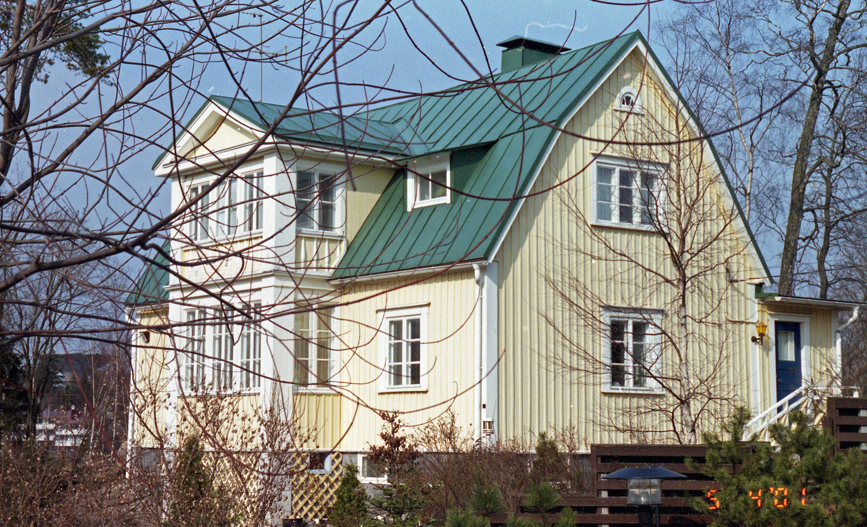 Kuva: Villa Alexis Stjercreutz (nro 70) Yliskylässä. Kuva © Jan Strang