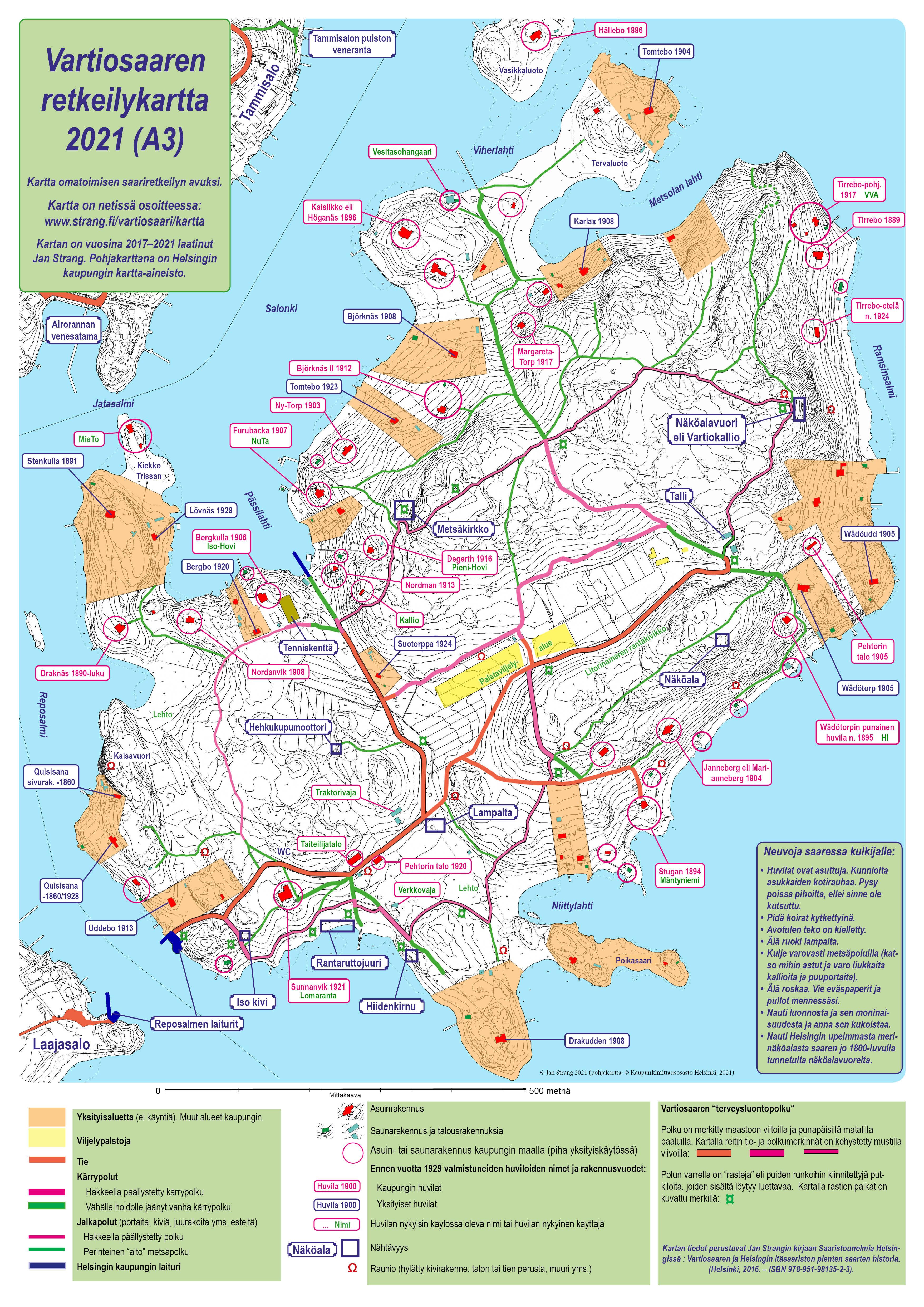 Vartiosaaren Kartta